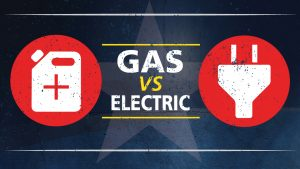 warning signs of gas vs electric