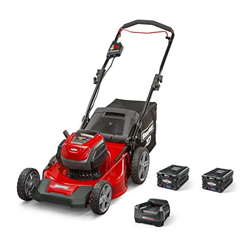 Ryobi riding mowen color red with accessories